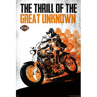 Harley Davidson - grande Poster Poster Print