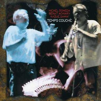 Doneda-Achiary-Sawai - Temps Couche [CD] USA import