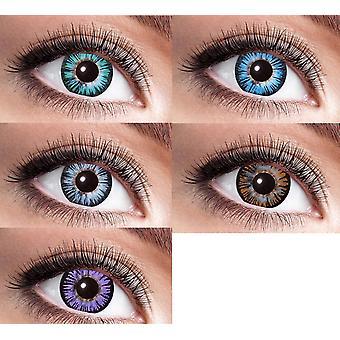 15 mm de la lente de contacto natural ojo grande