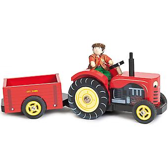 Le Toy Van Bertie's Tractor with Farmer