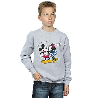 Disney jongens Mickey Mouse Mickey en Minnie kus Sweatshirt
