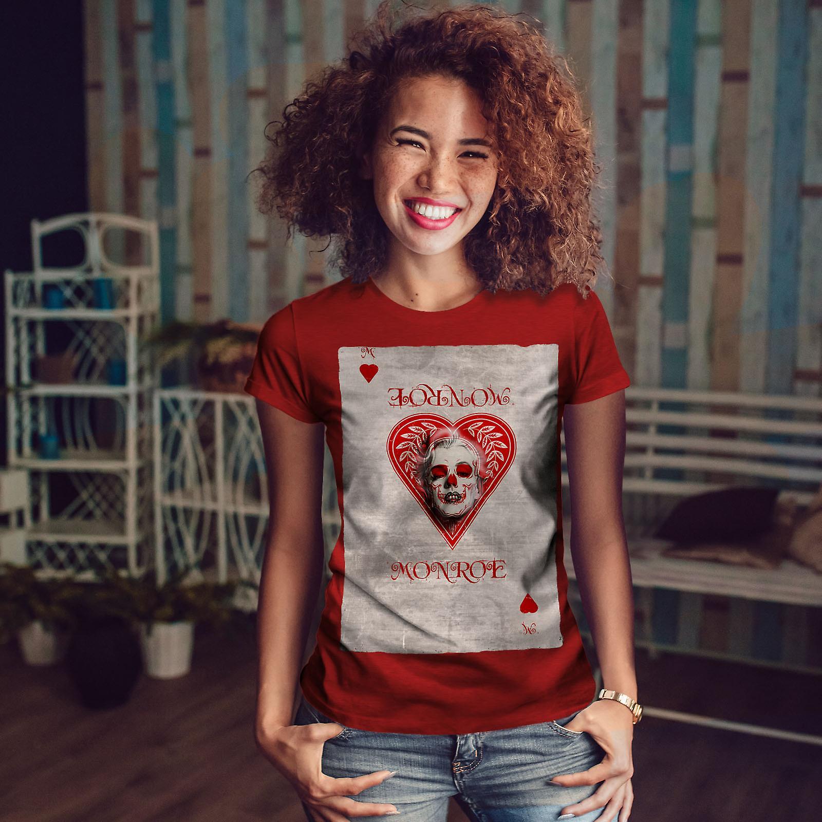 Coeur carte RedT-chemise femme   Wellcoda