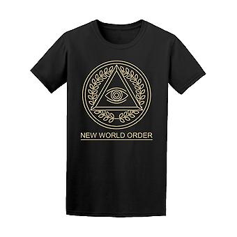All Seeing Eye New World Order Tee Men's -Image by Shutterstock