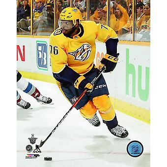 PK Subban 2017-18 Playoff toiminta Photo Print