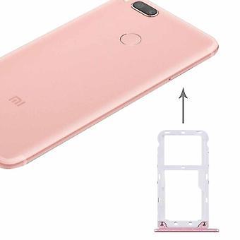 For Xiaomi MI 5pcs SIM card halterneck SIM bakke SIM / TF skub kortholderen pink nye