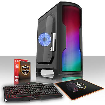 Feroz CYPHER Gaming PC, Fast Intel Core i7 8700K 4.5 GHz, 1TB HDD, 8GB de RAM, GTX 1650 4GB