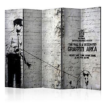 Vouwscherm - Graffiti Area [Room Dividers]