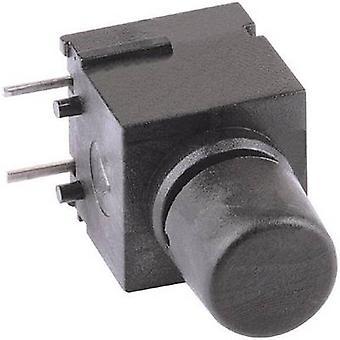 Mentor 1852.6232 Taster 60 V DC/AC 0,5 A 1 x Off/(On) momentane 1 PC