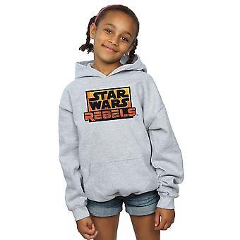 Star Wars dziewczyny rebelianci Logo Bluza z kapturem