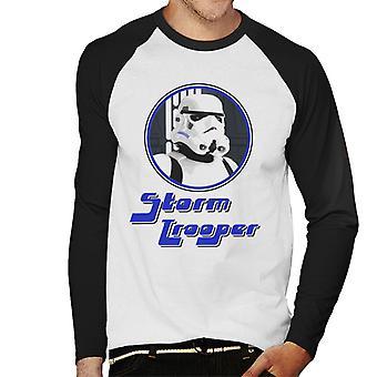 Original Stormtrooper 70s Retro Men's Baseball Long Sleeved T-Shirt