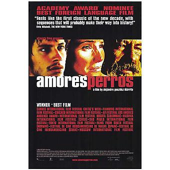 Amores Perros filmposter (11 x 17)
