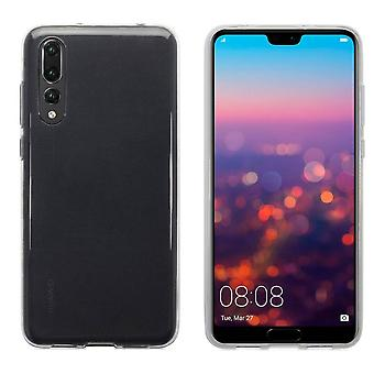 Colorfone Soft exclusieve TPU shell Huawei P20 transparant