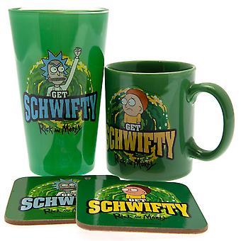 Rick und Morty Schwifty Geschenk-Set