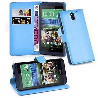 Cadorabo geval voor HTC Desire 610 gevaldekking-telefoon geval met magnetische sluiting, stand functie en kaart Case compartiment-Case cover geval geval geval boek vouwen stijl