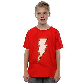 DC Comics pojkar Shazam bult Logo T-Shirt