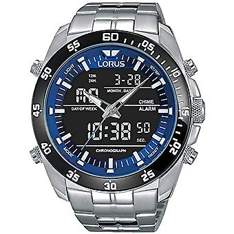 Analog-digital Watch LORUS quartz men with stainless steel strap RW629AX9