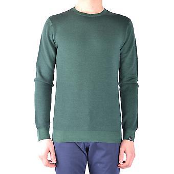 Paolo Pecora Ezbc059016 Men's Green Wool Sweater