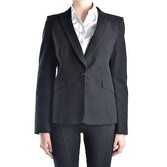 Costume National Ezbc066007 Femmes-apos;s Black Wool Blazer