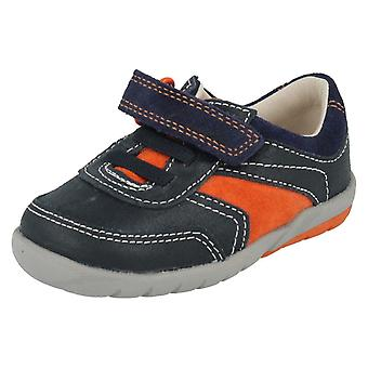 Boys Clarks Shoes Softly Lee Fst