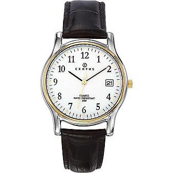 Certus couro REB-611273 - relógio homem