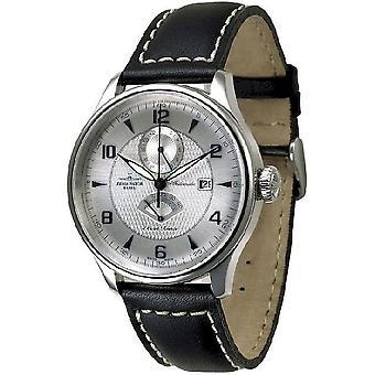 Zeno-watch mens watch Godat II + power reserve 6273GMTPR-g3