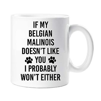 If My Belgian Malinois Doesn't Like You I Probably Won't Either Mug