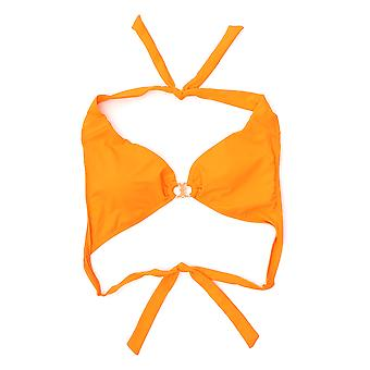 Tory Burch 56990803 Women's Orange Nylon Bikini