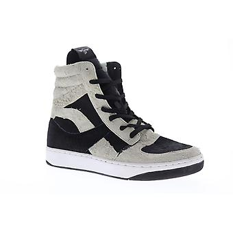 Creative Recreation Osano  Mens Black Casual High Top Sneakers Shoes