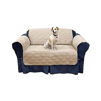 Babz 2 Seater Quilted Sofa Protector/Cover Micro Fibre & Water Resistant