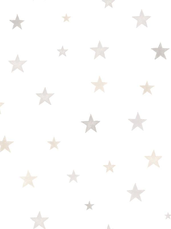 Little Ones Eco Stars Wallpaper GranDeco