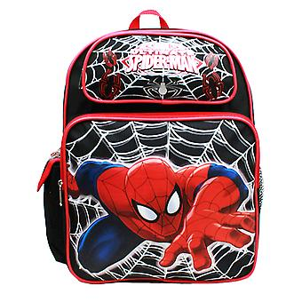Medium Backpack - Marvel - Spiderman Web Black New A05767