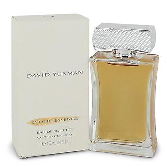 David yurman exotic essence eau de toilette spray by david yurman 510995 100 ml