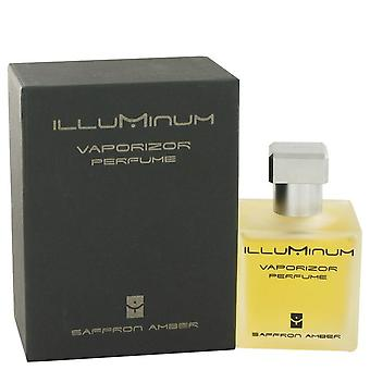 Illuminum saffron amber eau de parfum spray by illuminum 498507 100 ml
