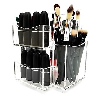 OnDisplay Bianca Rotating Acrylic Cosmetic/Makeup Organizer Tray
