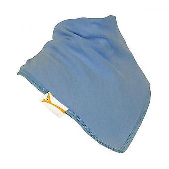 Babero bandana llano azul pálido