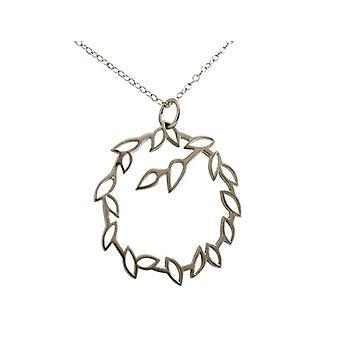 Gemshine Necklace with Donna vermeil pendant - A598