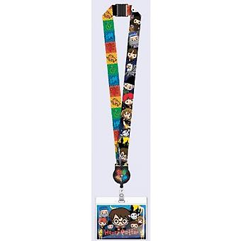 Lanyard - Harry Potter - Kawaii w / portacarte di blocco