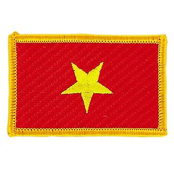 Patch Ecusson Brode vlag Vietnam Vietnamvietnaam vlag Thermocollant insigne Blason