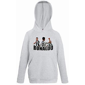 Ronaldo Barn Hoodie Sweatshirt T-shirt-Juventus Spieler