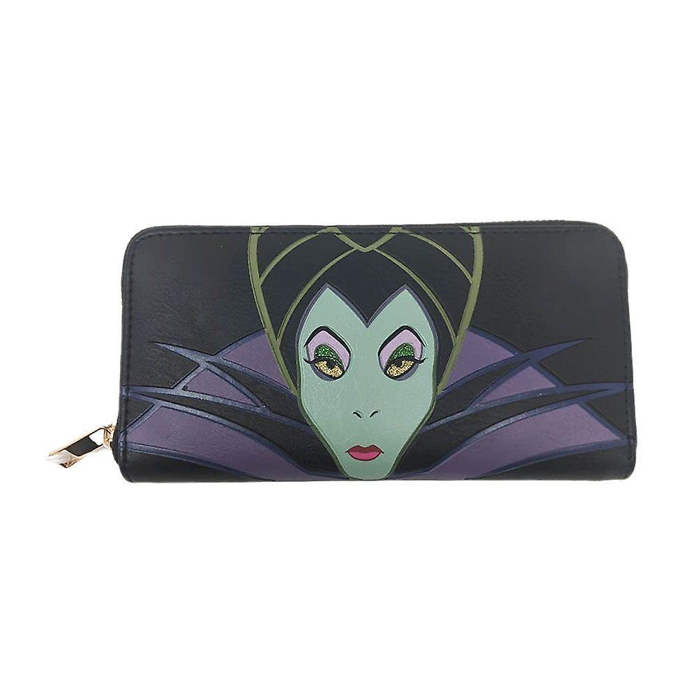 Disney Maleficent 2 Patched Zip Around Purse