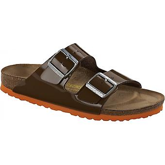 Birkenstock Arizona BF Sandalia 652691 Patente Marrón/Naranja REGULAR