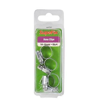 SupaFix Hose Clips (Pack Of 4)