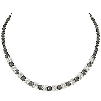 Eternal Collection Alchemy Hematite Beaded Necklace