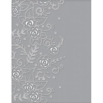 Spellbinders قطع النقش المجلدات حديقة الزهور