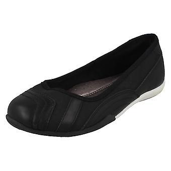 Girls Cool For School Flat Ballerinas H2567