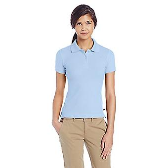 Lee Junior's Stretch Pique Polo, Light Blue, Large