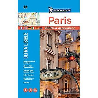 Paris par arrondissement  Michelin City Plan 68  City Plans by Michelin