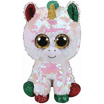 TY Flippable Sequins Stardust The Unicorn Small Beanie Boo