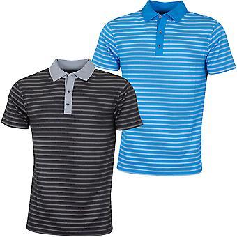 Bobby Jones Mens Rule 18 Tech Monte Carlo Stretch Golf Polo Shirt