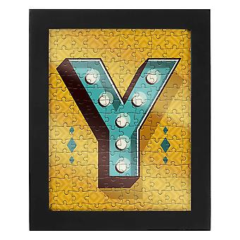Letter Y Jigsaw & Frame by Ridley?s
